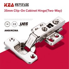 [B23] High Quality Furniture Hinge Clip-on Kitchen Cabinet & Door Two way hinge