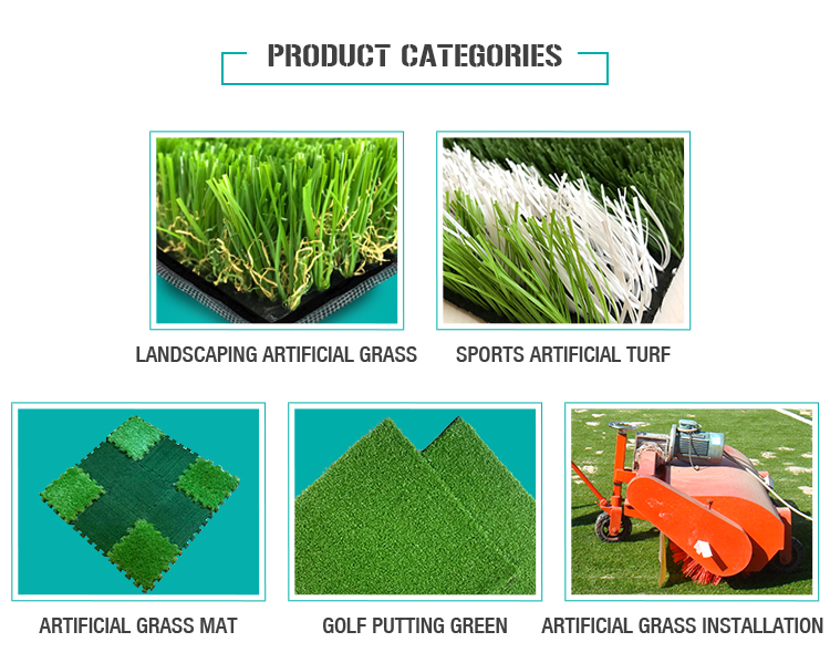 Widespread Use M shape Artificial Carpet Grass landscape decorative turf