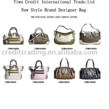 New Designed Las Hand Bags Brand Names