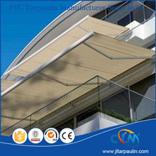Aluminum frame gazebo awning for terrace awnings