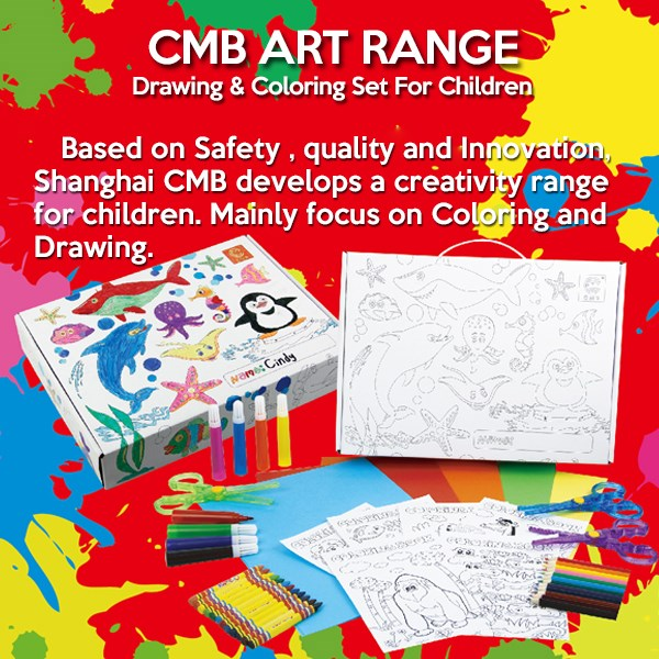 Eco Kids Items Stationery Set Design Your Own Coloring Book