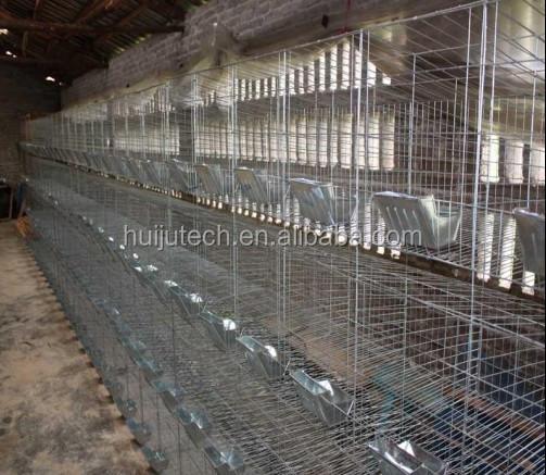 Hot Sale Farm Equipment Rabbit Cages For Kenya Uganda