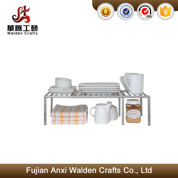 Kitchen Cabinet Expandable Shelf Organizer Dish Cup Can Storage Rack Pantry Iron  sc 1 st  Alibaba & Kitchen Cabinet Expandable Shelf Organizer Dish Cup Can Storage Rack ...