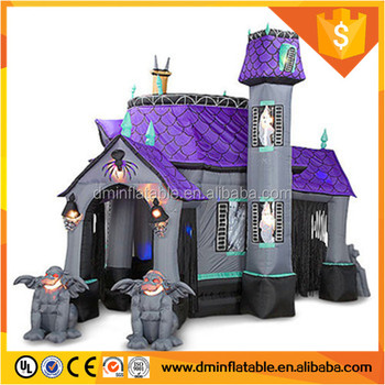High quality halloween inflatable haunted house tent for Halloween decorationC-385 & High Quality Halloween Inflatable Haunted House Tent For Halloween ...