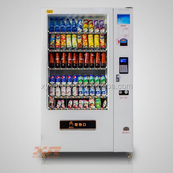 Vending Machine Combo Coffee And Snack/cold Drink Vending