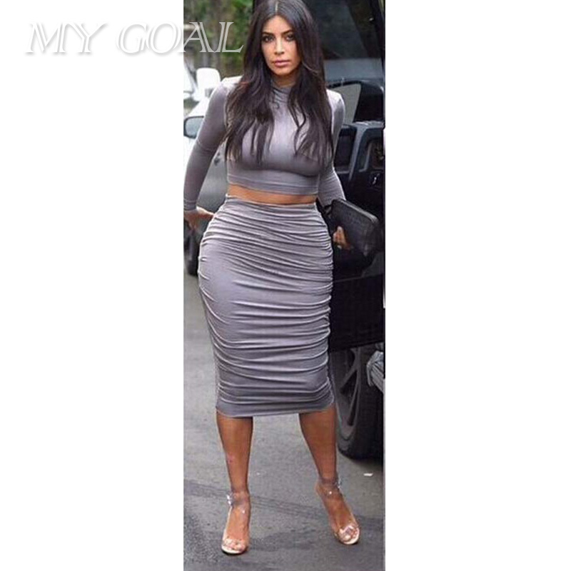 0cee85ff89374 Get Quotations · Free Shipping New 2015 Spring women dress sexy Celeb  bandage bodycon dress Long Sleeve 2 piece