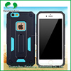 China manufactruer new armor 2 in 1 dual layer 9 colors shockproof and anti-friction TPU+PC durable phone case for IPhone 5/5s