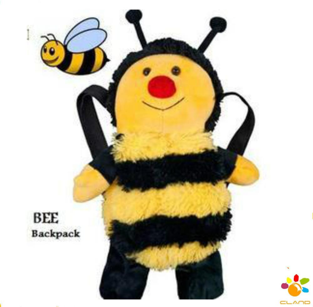 2014 New Design High Quality Custom Cute Bee Plush Backpack - Buy 2014 New  Design High Quality Custom Cute Bee Plush Backpack,Jansport 2014 New Design