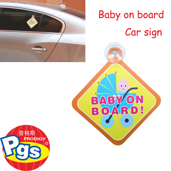 sign for car window