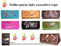 Wallet type purse for executive women
