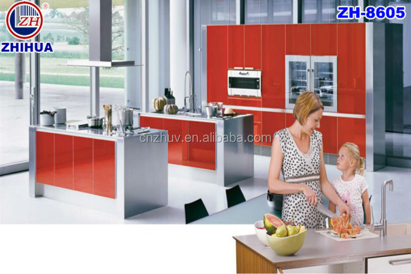Mdf Della Melammina Armadio Da Cucina Mobili Da Cucina Economici - Buy  Armadio Da Cucina Economici,Armadi Da Cucina Di Design,Cucina Mobile ...