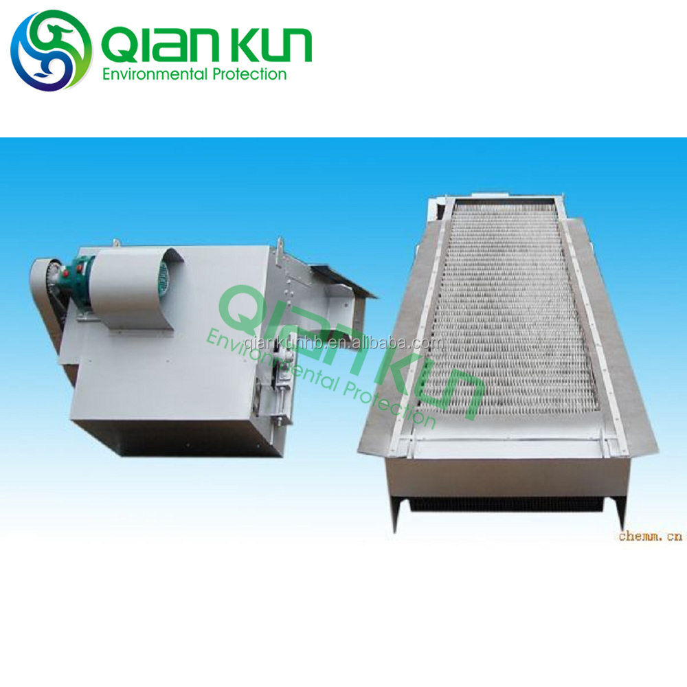 mechanical bar, wastewater filter