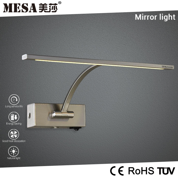 Wholesale vintage make up mirror table with led light