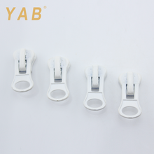YAB Various Colors Russian Market Custom Shape Double Side Zipper Head Puller Slider