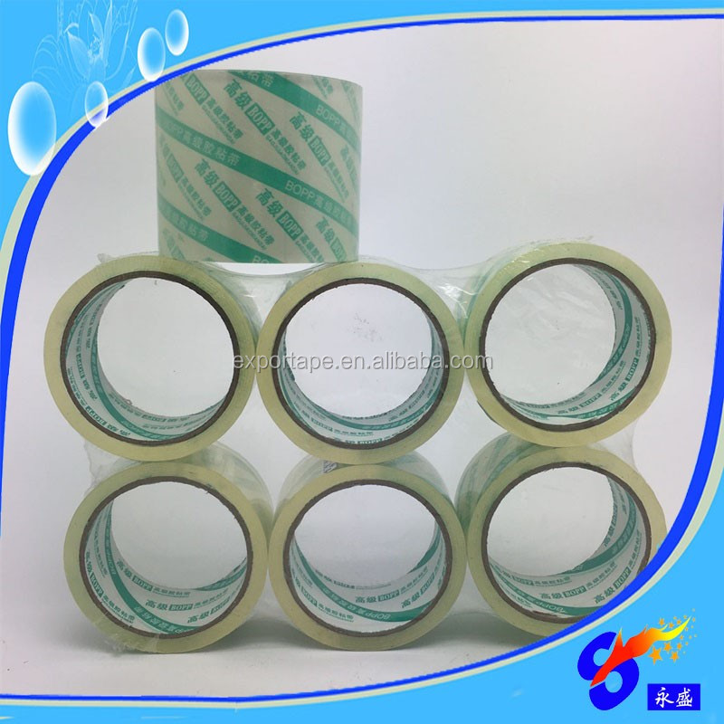 24 rolls clear bopp packing sealing tape 3 Inch 110 Yds