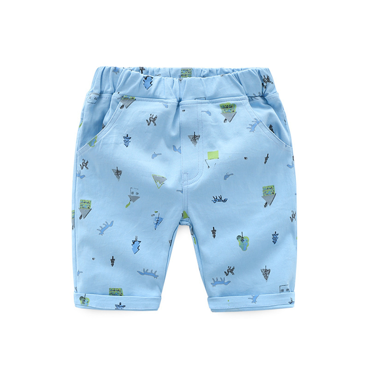 children short boy pants with big sizes summer beach Children Cartoon Pants