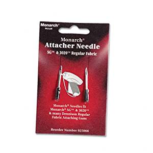 Monarch : Needles for SG Tag Attacher Kit, 2 Needles/pack -:- Sold as 2 Packs of - 2 - / - Total of 4 Each