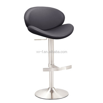 modern furniture colorful saddle adjustable seat bar stool with back
