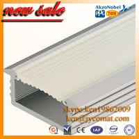6063 T5 aluminum u channel profile