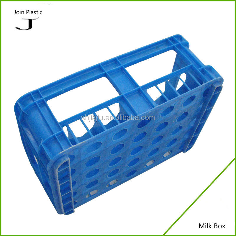 hot sales food grade solid plastic milk crate bottles storage cubes crates for amazon