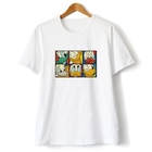 On Sale Funny Donald Cartoon Pattern Cotton T-shirt for Teen