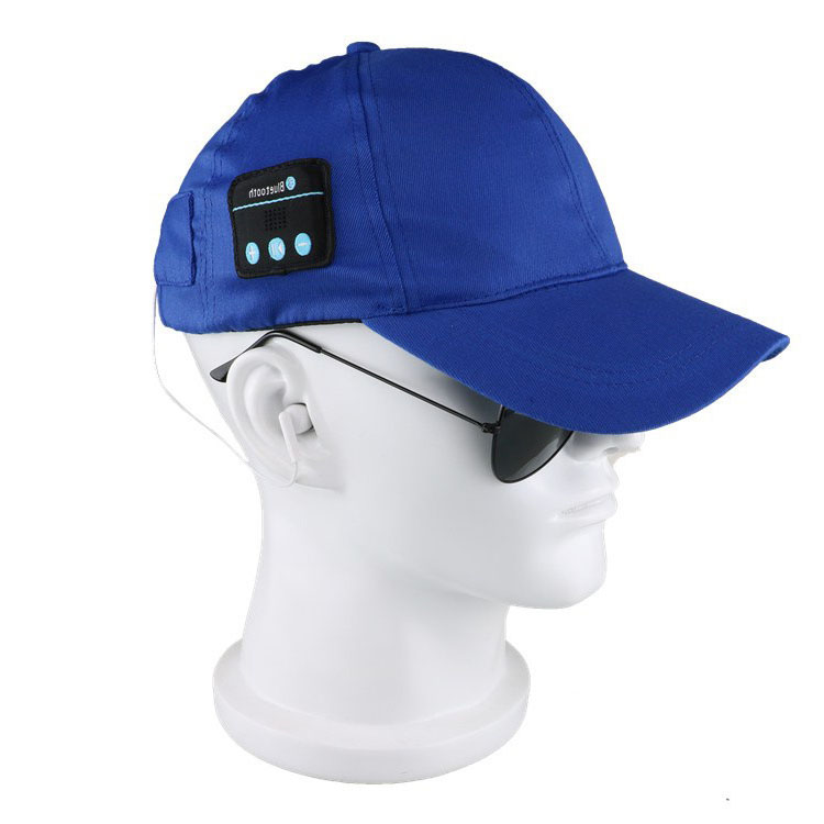 new products outdoor sports baseball cap earphone build in wireless music hat headphone