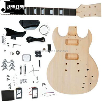 wholesale china supplier factory price sg electric guitar kit buy sg electric guitar kit. Black Bedroom Furniture Sets. Home Design Ideas