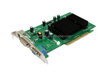 Nvidia Fx6200 Fanless Real 512m Pc Agp 8x Video Cards With S Video Ouput Dvi Ddr2 Pc Graphic Card Buy 512m Agp 8x Cartes Video Pc Carte Graphique Sans Ventilateur Avec Sortie