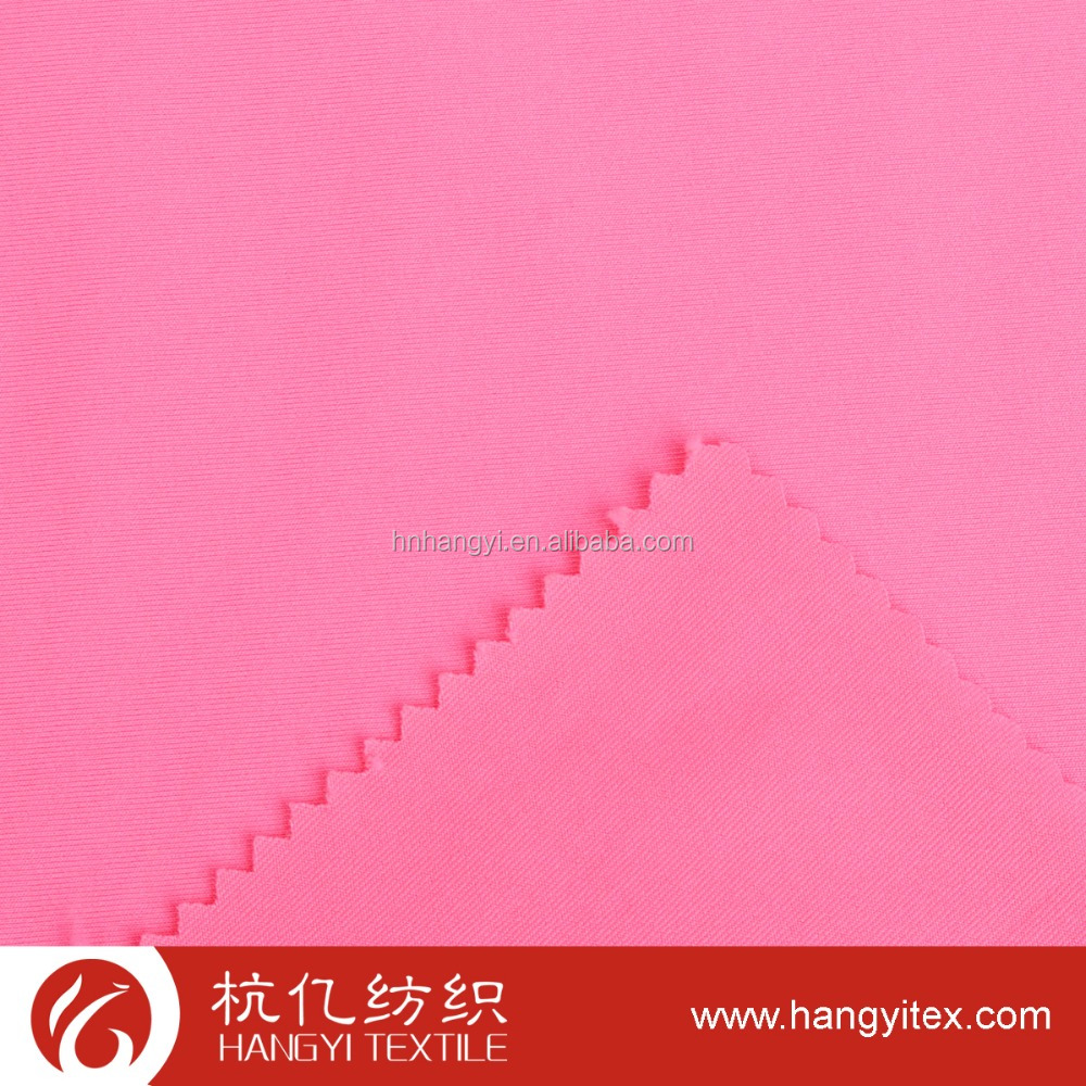 100% polyester knitted interlock fabric for sportswear
