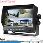 Para Bus trator Van Trailer 7 polegada TFT HD autônomo Monitor do carro Lcd