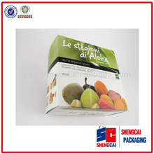 Emballage alimentaire customizedpaper pomme. fruits. scpb14062421 emballage boîte