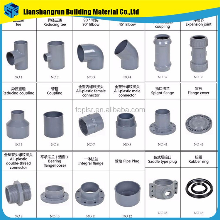 Plumbing Materials Low Price Pvc Pipe Fittings Buy Lowes