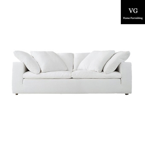 Furniture living room sofa luxury , modern fabric sofa Upholstered fabric living room furniture cloud sofa