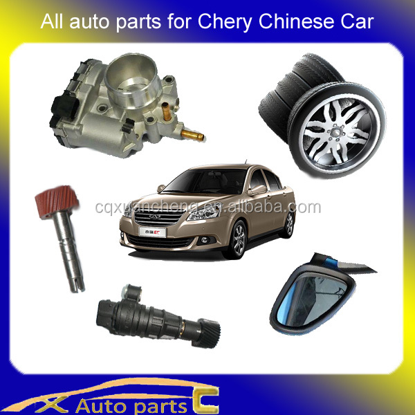 Supply all range auto parts for Chery Chinese car