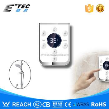 china digital shower controller hot cold water mixer temperature control