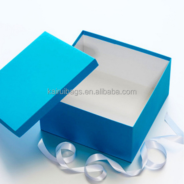 Wonderful Turquoise Plain Hard Gift Boxes For Clothes