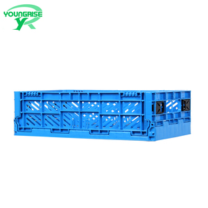 mesh box surface folding vegetables plastic crate for potatoes tomatoes