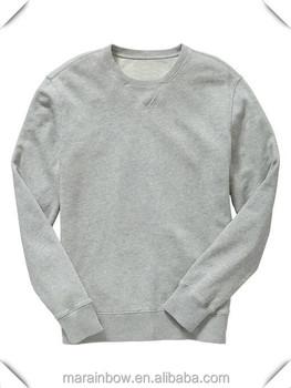 Bulk Wholesale 100% Cotton Blank Crewneck Sweatshirt Custom Design ...