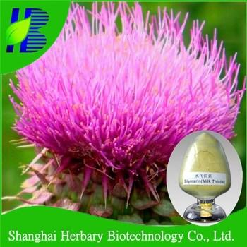 2017 Latest medicinal herbs Milk thistle extract water soluble silymarin 80% uv
