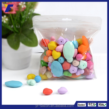 Wholesale Cheap Round Silicone Loose Beads