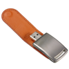 Simple leather model USB 2.0 Memory Stick Flash pen Drive 4GB 8GB 16GB