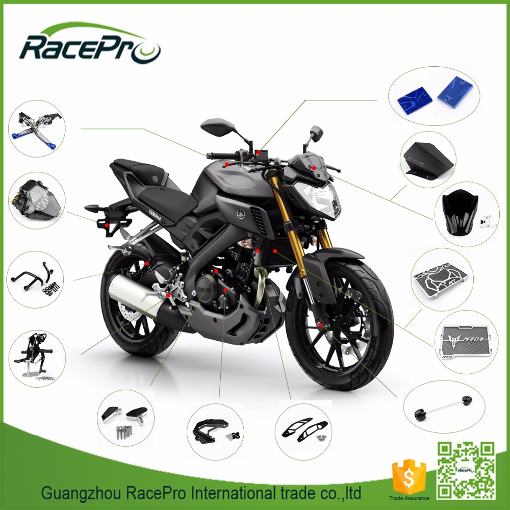 Custom CNC Aluminum Parts Motorcycle for Yamaha MT-09