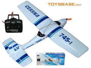 RC Hobby --FM 3 channel Cessna Airplane TW-745-1