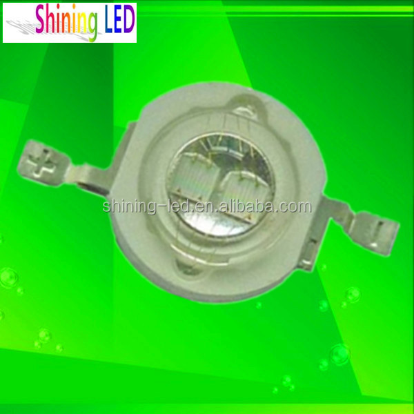 Dual Chip de Ultra-violeta 1000-1400mA 365nm 370nm UV LED de Alta Potência 5 W