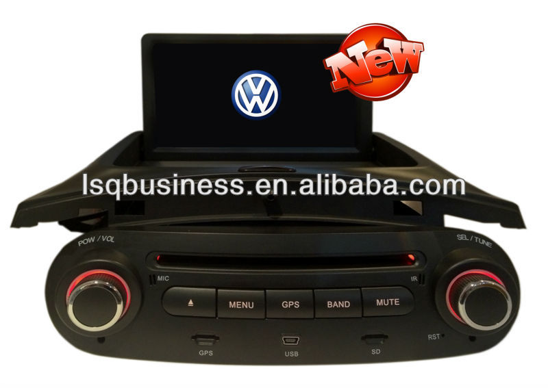 Car GPS for VW Beetle with SD USB MP4 Bluetooth Radio VCD CD DVD player,ST-7028I