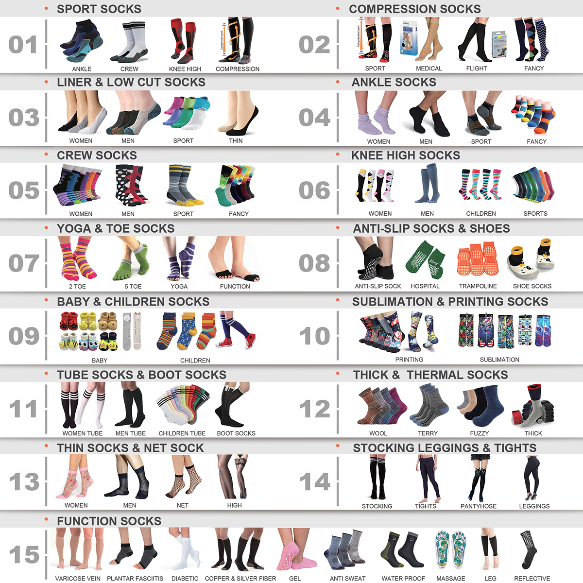 DL-I-0950 cute long socks cute knee socks cute knee high socks