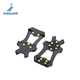 Plastic Outdoor Snow Ice Climbing Shoe Spikes Grips Cleats shoes Cover Crampons 10-Stud Anti Slip ice grippers snow crampons