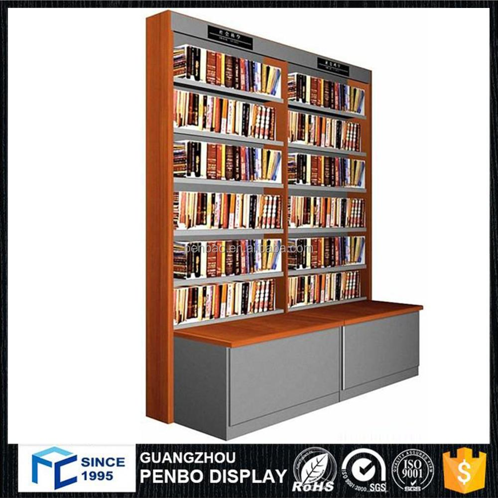 style moderne mdf bois biblioth que et sp cification livre pr sentoir pour librairie support d. Black Bedroom Furniture Sets. Home Design Ideas