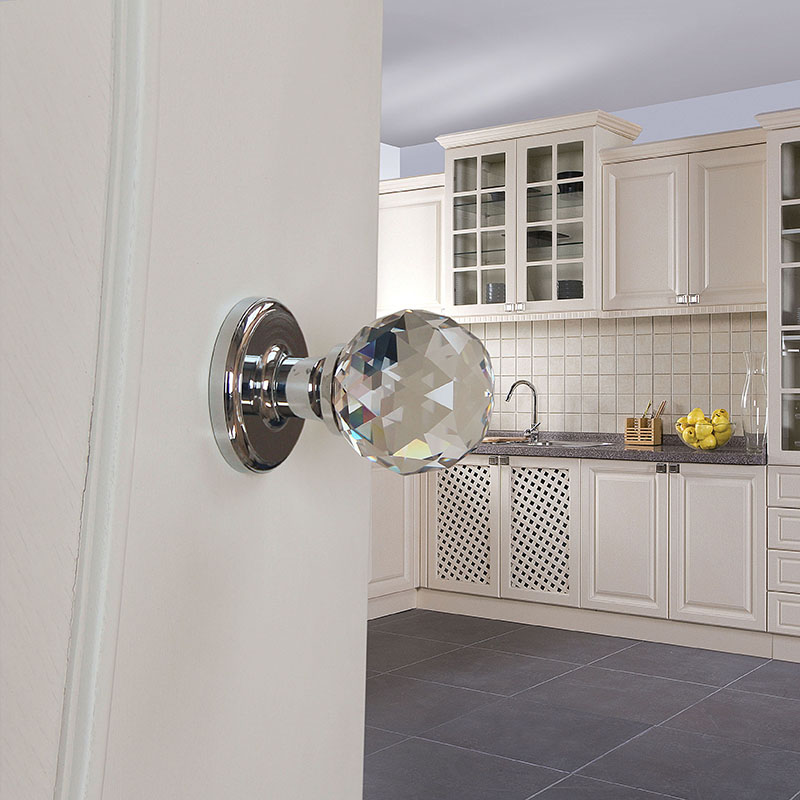Best Service Fancy Kitchen Cabinet Double Sided Washroom Bathroom Door Lock Knob Buy Decorative Ball Door Knobs Crystal Decorative Knobs Double