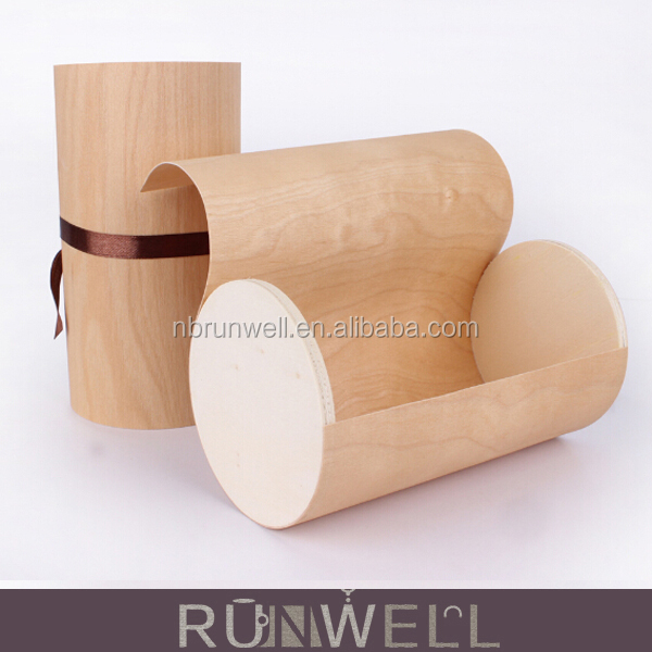 Nature birch bark wooden food packaging boxes